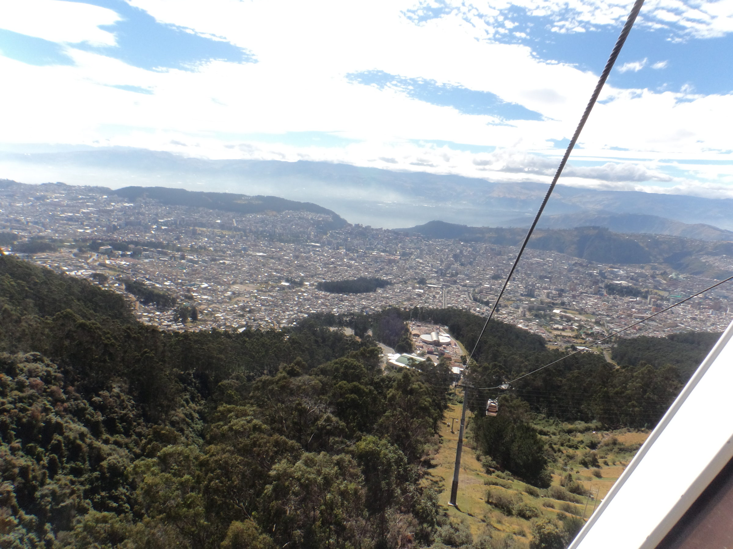 Quito, the capitol of the center of the world