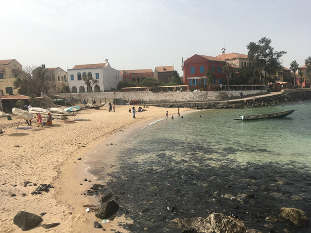 A visit to Gorée Island and flashbacks from Palestine.
